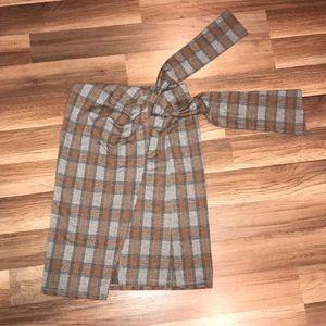 Dresses & Skirts - NWOT Gray, Brown, and Black Alders Skirt
